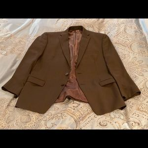 Calvin Klein brown 44R Blazer in great condition